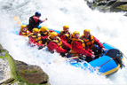 Rafting on the River Noce